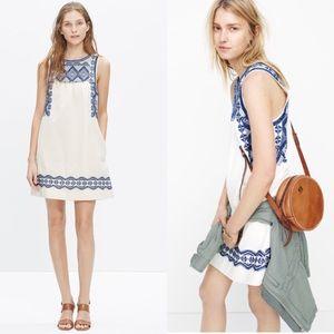 Madewell Embroidered Stitchtake Dress